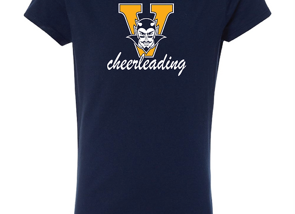 Victor Cheer Girls Fitted TEE1