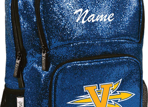 Victor Chasse Glitter Backpack