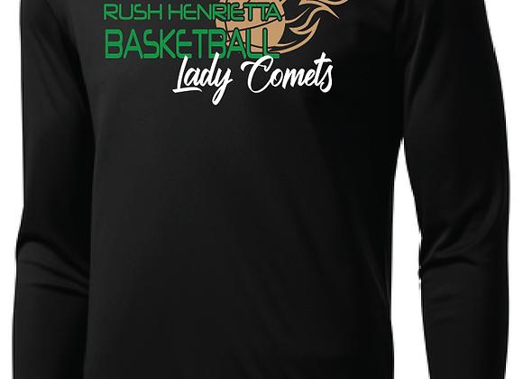 RH Lady Comets BB - SportTek Long Sleeve Tee