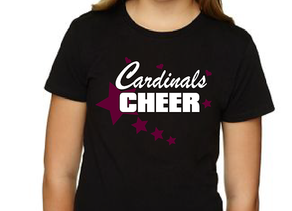 Cheer Star Youth Fitted Tee