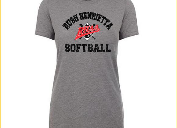 RHAA Softball Cotton/Poly TEE