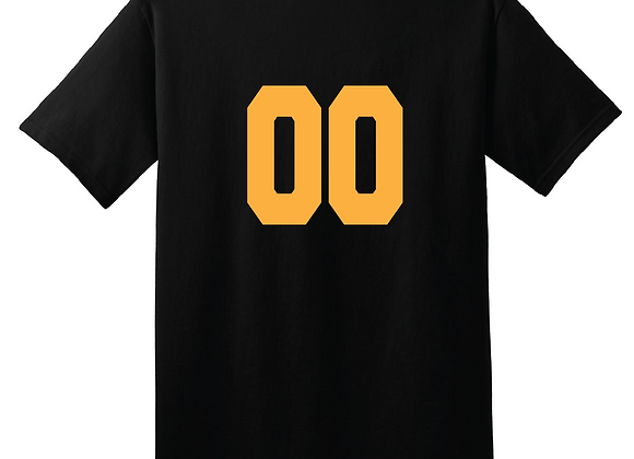 Personalize any apparel item with a Number
