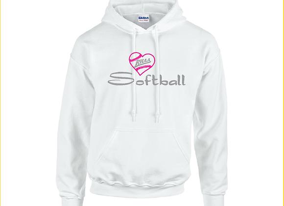 RHAA Love Softball Hoodie