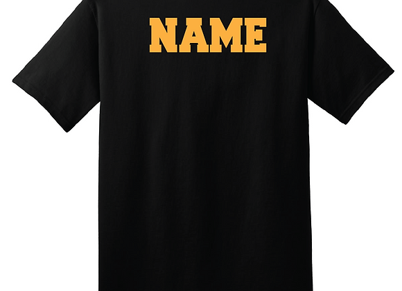 Personalize any apparel item with a Name