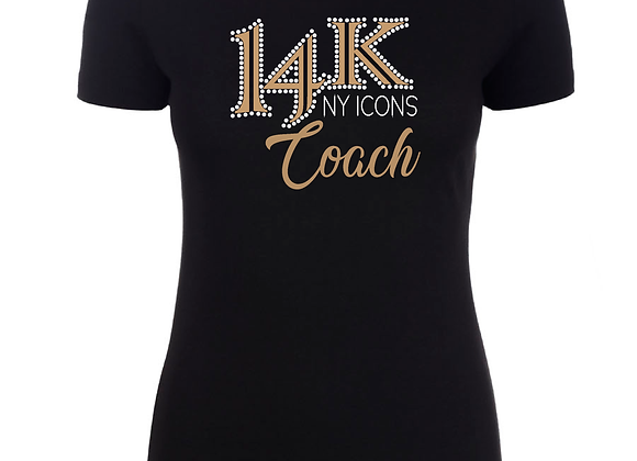 14K Coach Fitted Tee