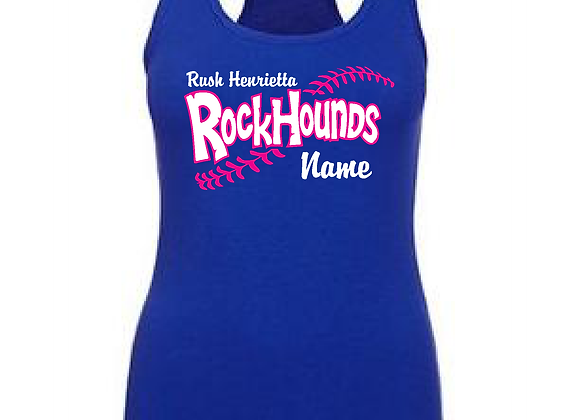 RH Rockhounds Personalized Fitted Tank