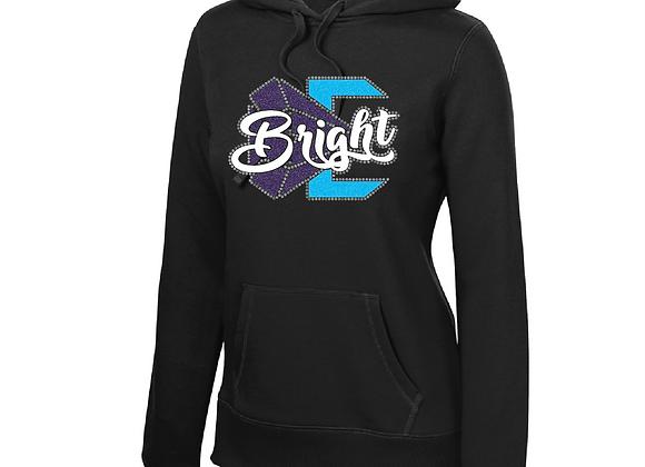 Bright Rhinestone/Glitter Hoodie