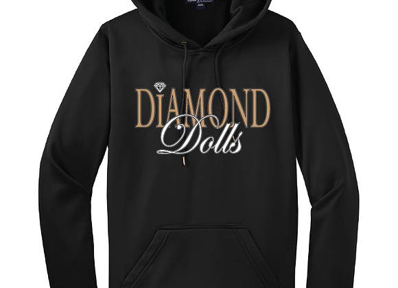 Diamond Dolls Ladies Hoodie