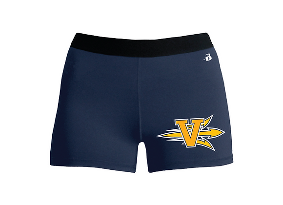 Victor Cheer Fitted Badger Shorts