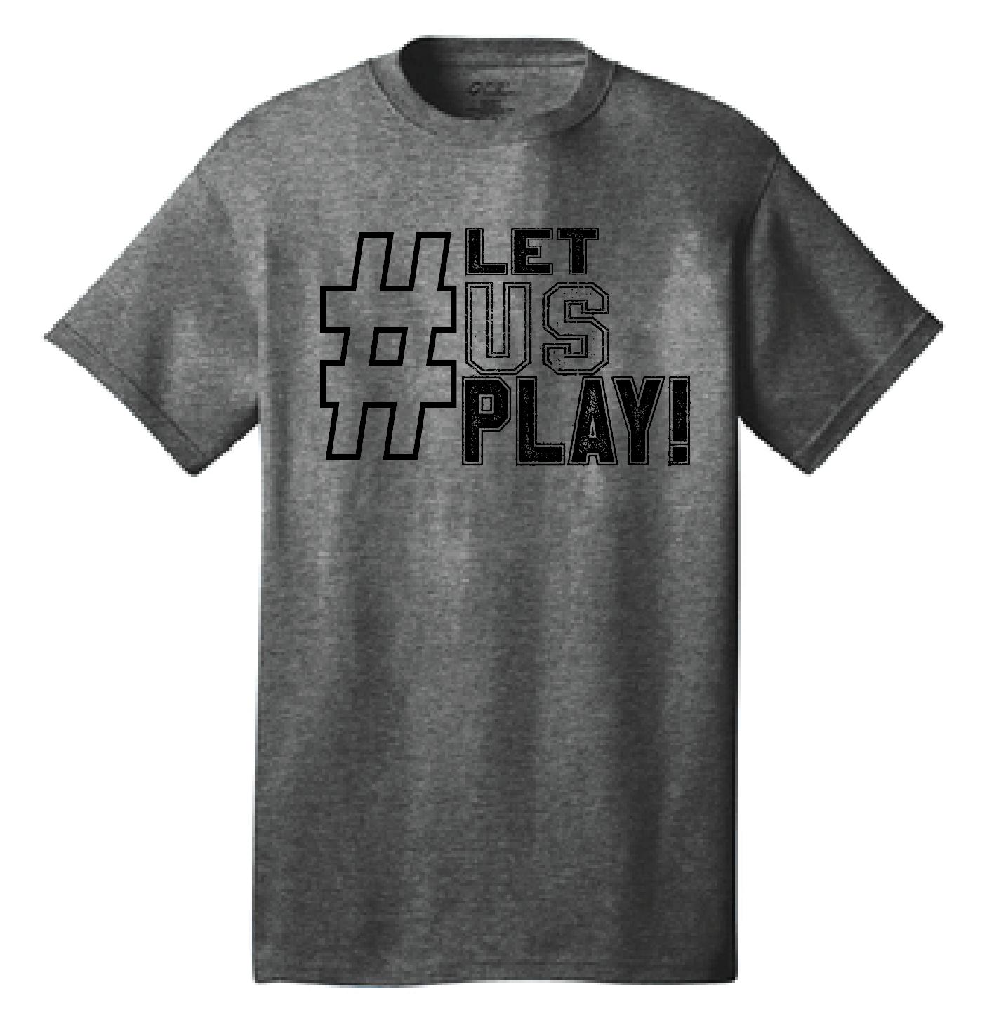 Let US Play D3 tee