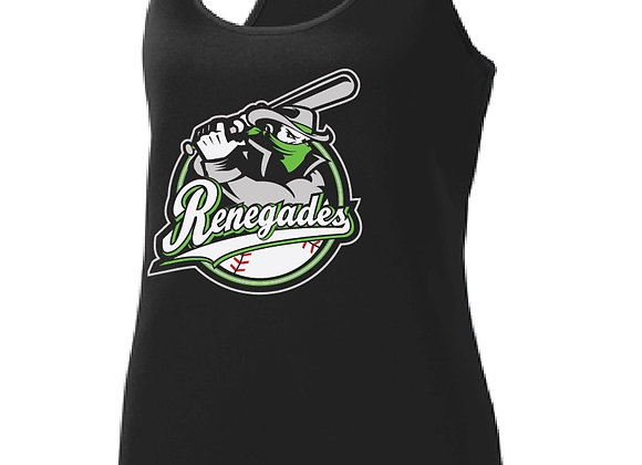Renegades Baseball Ladies Sport Racerback