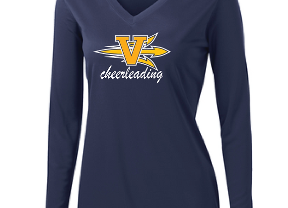 Victor Cheer Ladies LS Sport TEE