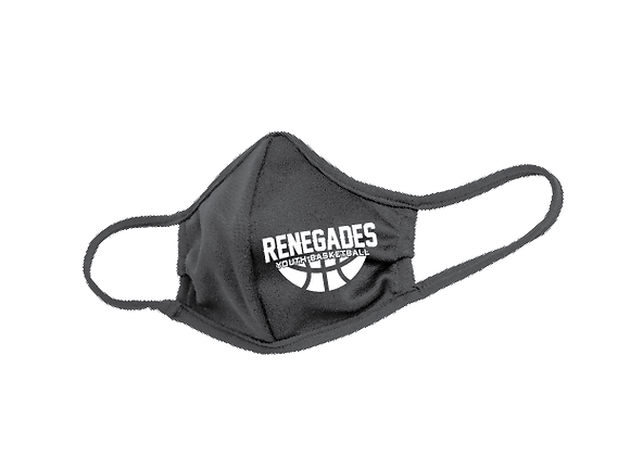 Renegades Basketball Face Mask D1