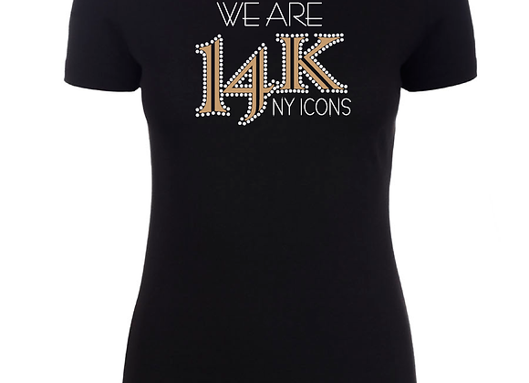 WE ARE 14K Fitted Tee