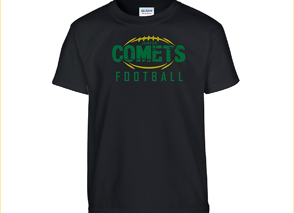 Jr. Comets Stamped Tee with Personalization