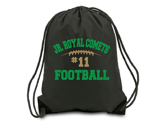 JRC Football Drawstring Bag