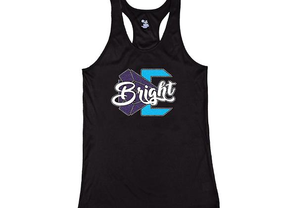 Bright Perfomance Glitter Tank