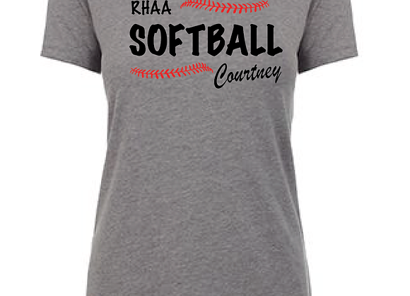 RHAA Personalized Cotton/Poly TEE