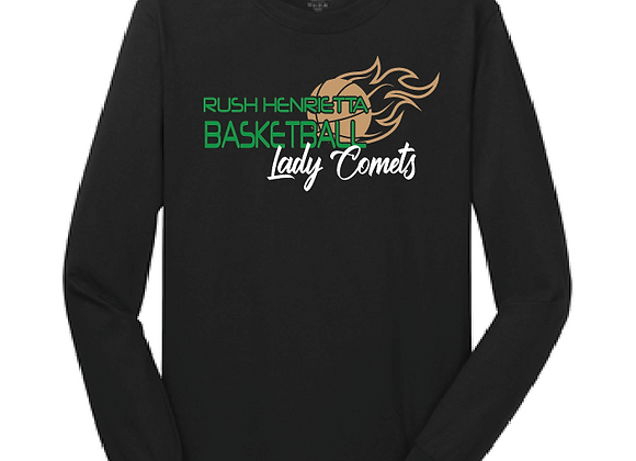 RH Lady Comets BB Long Sleeve Tee