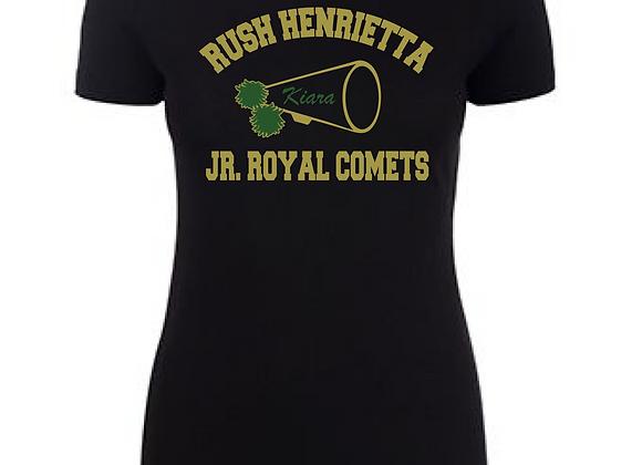 RH Jr. Comets Mega Cheer Fitted Tee