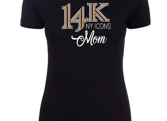 14K Mom Fitted Tee