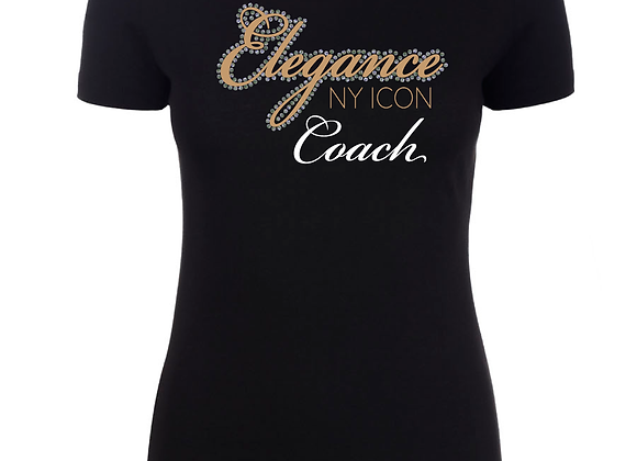 Elegance Coach Fitted Tee