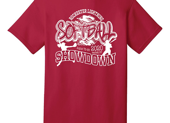 Lightning Softball Showdown Tee