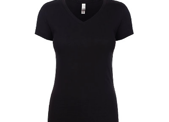 Cheer Fitted V Neck Tee