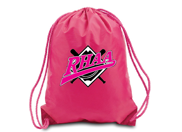 RHAA Drawstring Hot Pink