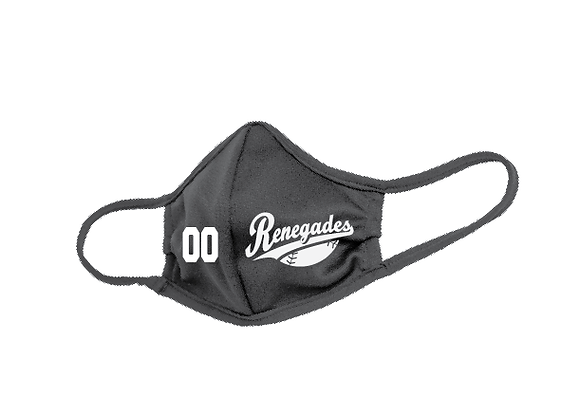Renegades Baseball Face Mask D2