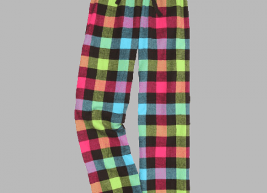 Neon Flannel Pant