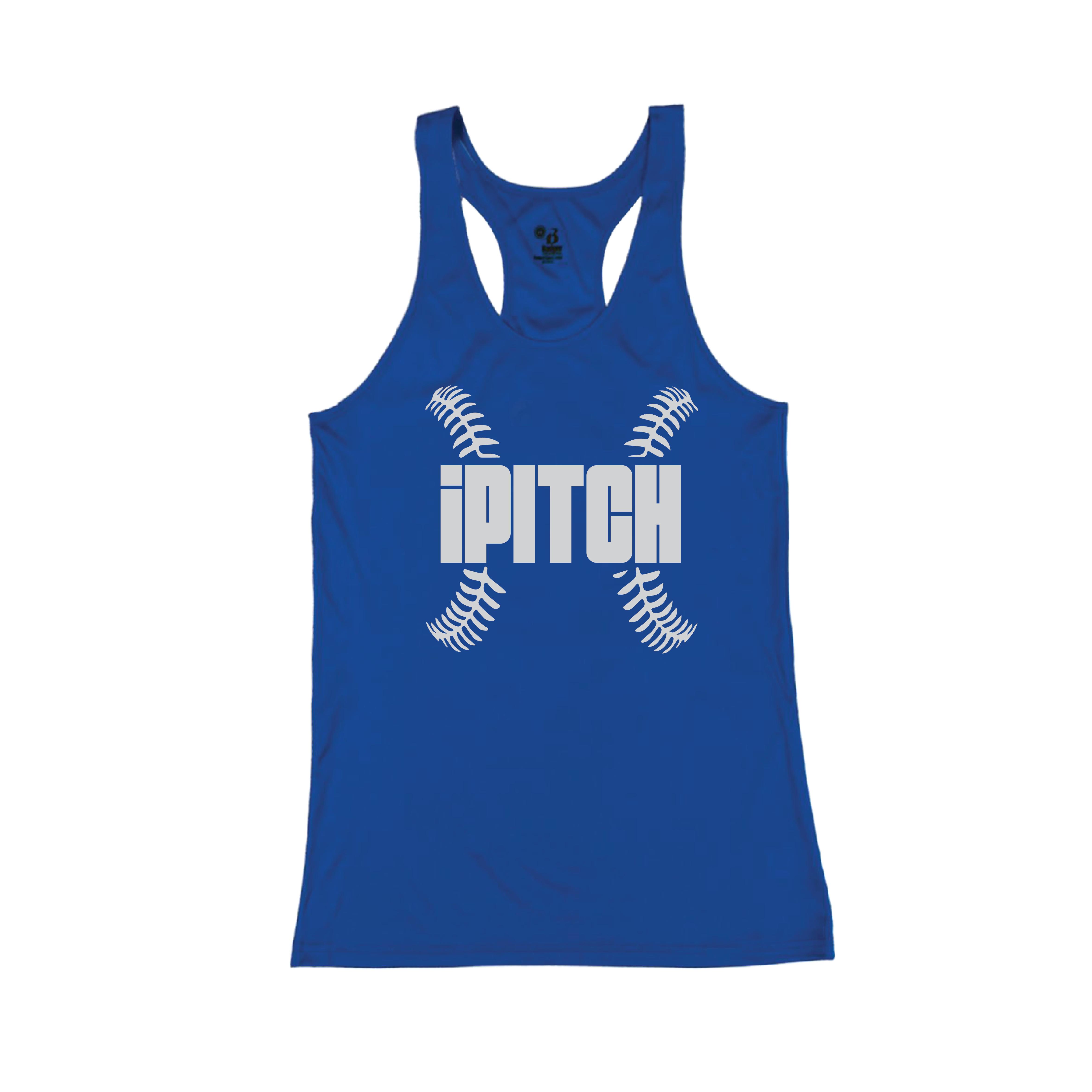 Softball blueTank