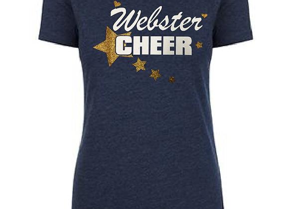 Cheer Star Ladies Tee