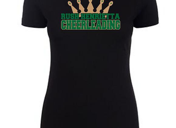 RH Cheer Crown Fitted Tee