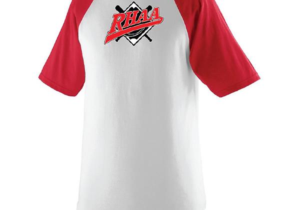 RHAA Baseball Jersey Style  HS TEE
