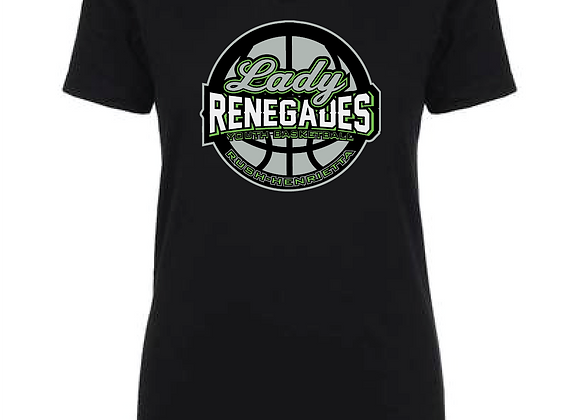 Renegades Lady BB Ladies Fitted VTee