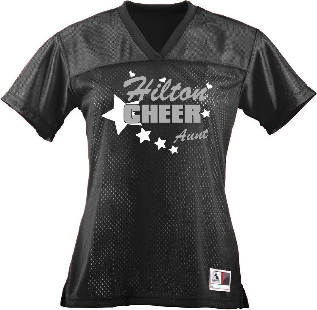 Ladies Cheer Jersey Personlized