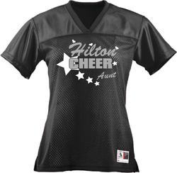 Ladies Cheer Jersey Personlized