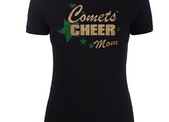 Cheer Star Personalized Ladies Tee