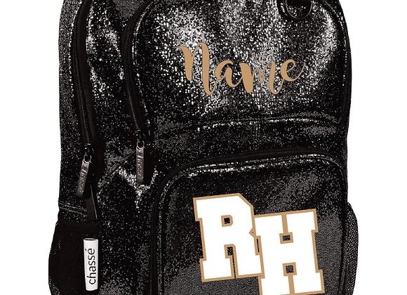 RH Cheerleading Chasse Glitter Backpack