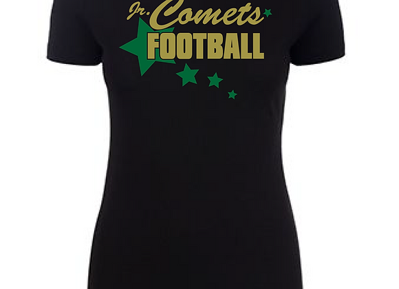 Jr. Comets Football Star Fitted Tee