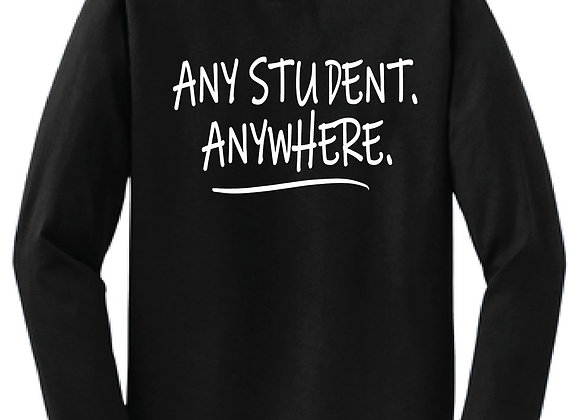 Any Student Anywhere  LS Tee