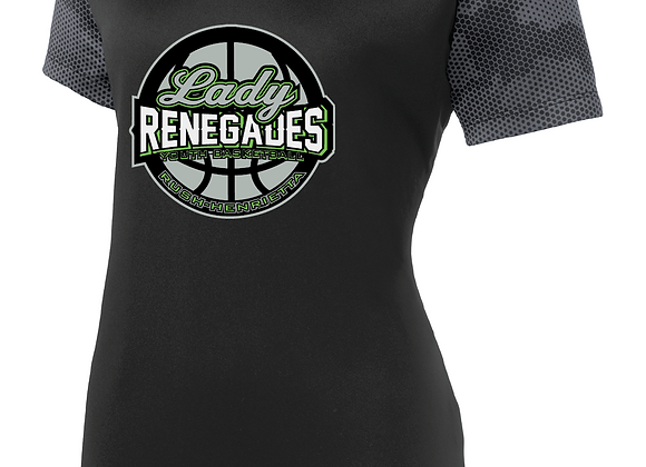 Renegades Lady BB CamoHex Ladies Sport TEE