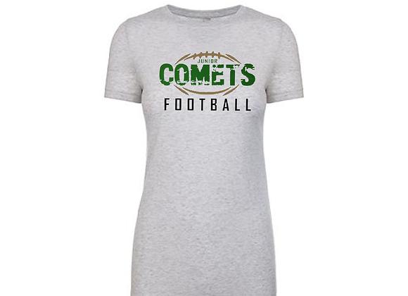 COMETS Football 6710 Tri-Blend Tee
