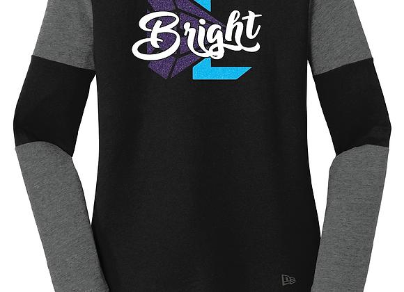 Bright New Era LS Glitter Tee