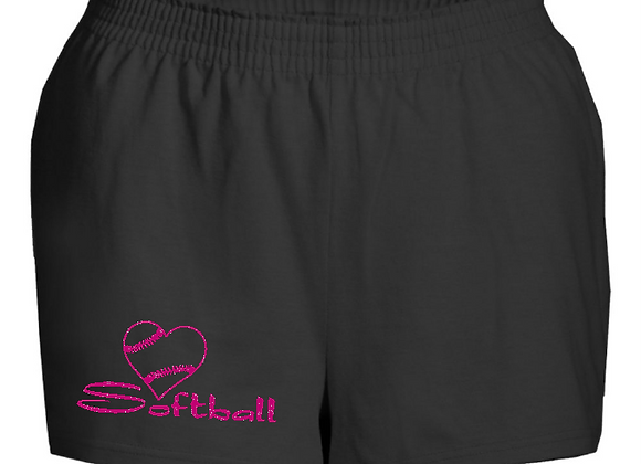 Love Softball Shorts