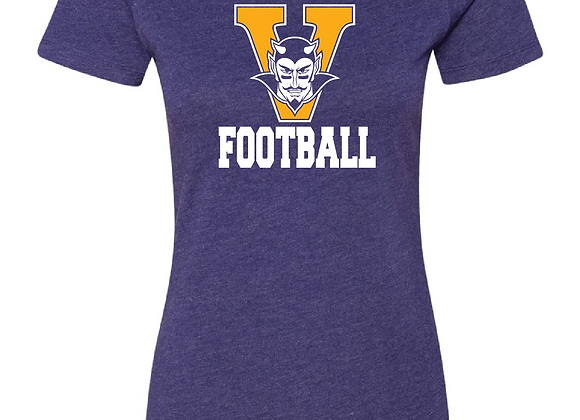 Victor Football Fitted TEE