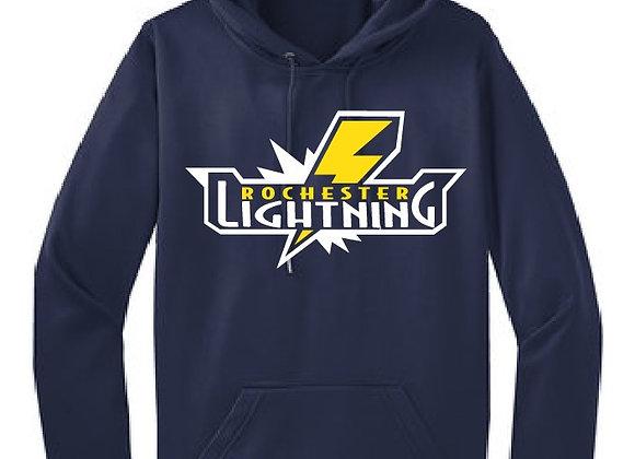 Rochester Lightning Performance Hoodie