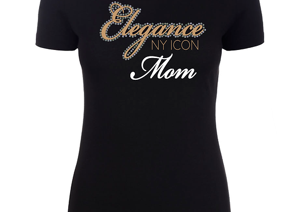 Elegance Mom Fitted Tee