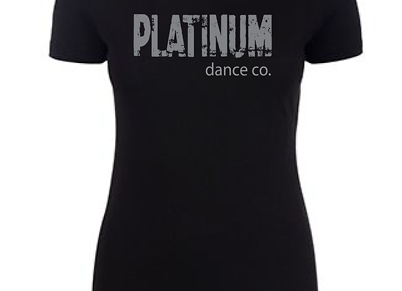 Platinum Fitted Tee